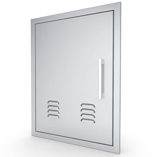 "17"" x 24"" Beveled Frame Vertical Vented Door"