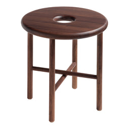 Namba Walnut Stool