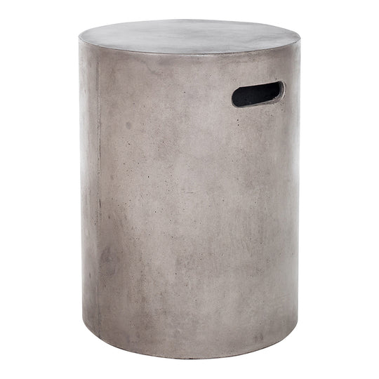 Cato Outdoor Stool, Dark Grey