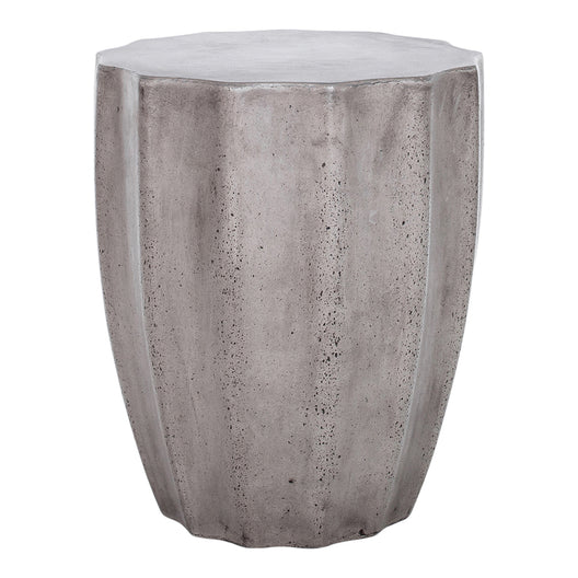 Lucius Outdoor Stool, Dark Grey