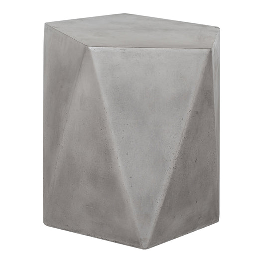 Gem Outdoor Stool, Dark Grey