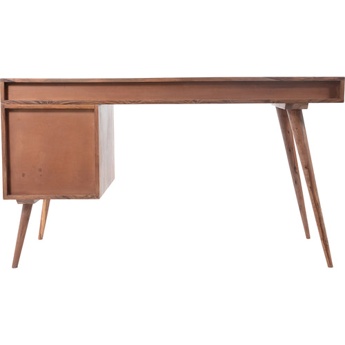 Desk, Mid-Century Modern, Natural