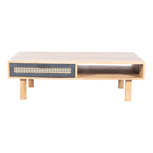 Ashton Coffee Table, Natural, Mid-Century Modern
