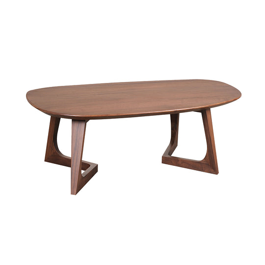 Godenza Coffee Table Small Brown | Coffee Tables | Moe's Home