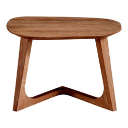 Godenza End Table, Brown, Mid-Century Modern