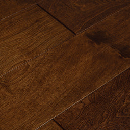 Luxury Rich Hickory Distressed Engineered Hardwood Flooring
