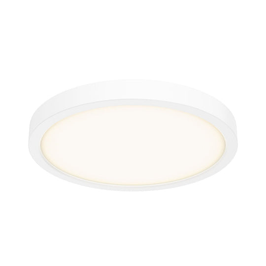 "10"" LED Round Flush Mount, 120V, 17W, 1000 Lumens"