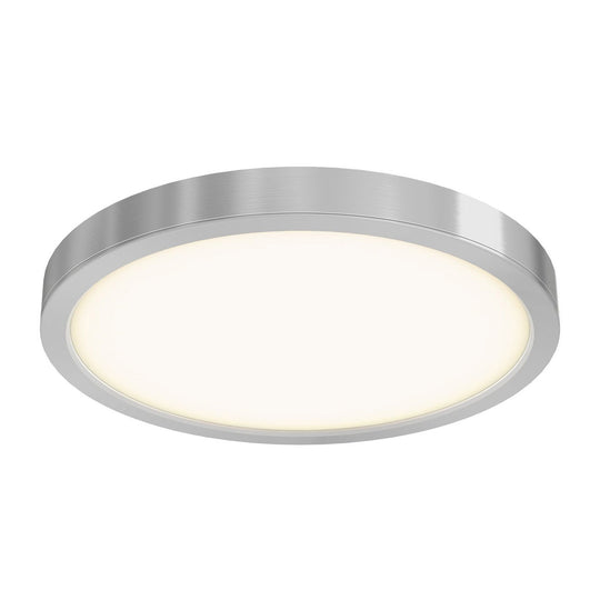 "14"" LED Round Flush Mount, 120V, 28W, 1600 Lumens"