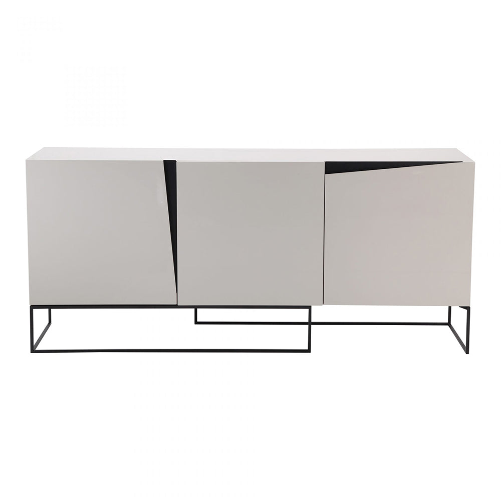 Contemporary Modern Albion Accent Kitchen Buffet Sideboard & Storage Cabinet