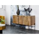 Load image into Gallery viewer, Transitional Dixie Sideboard Cabinet - Kitchen Storage & Sideboard Cabinet