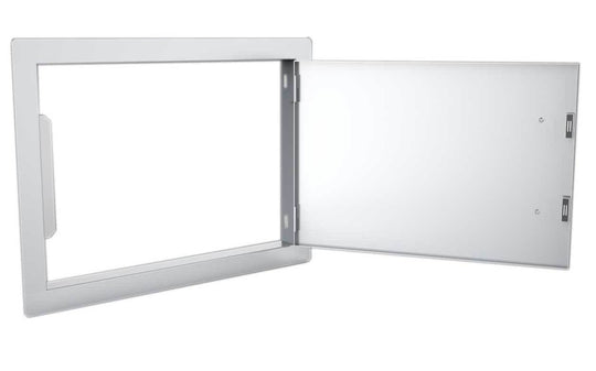 Classic Series 14x20 Horizontal Access Door W/ 4 Light Brushed Finishes