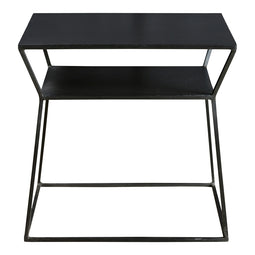 Osaka Side Table, Black, Industrial