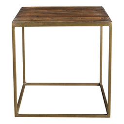 Meadow Side Table, Natural, Industrial