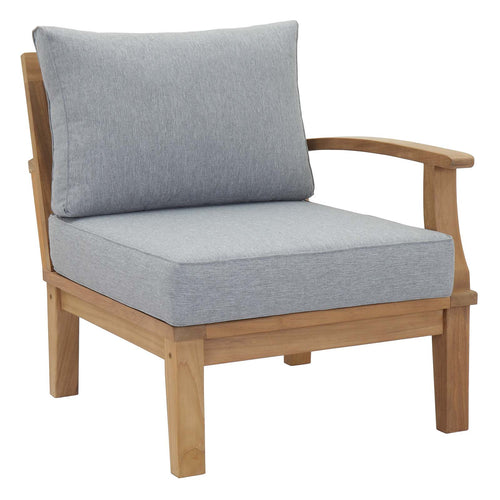 Marina Outdoor Patio Teak Sofa