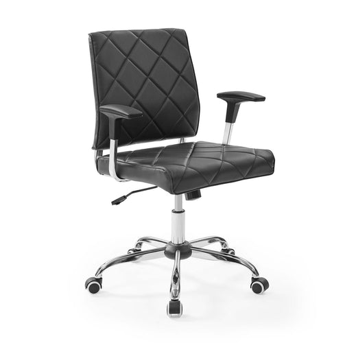 Lattice Vinyl Office Chair For Super Productive Offices