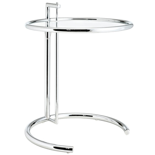 Eileen Gray Chrome Stainless  End Table