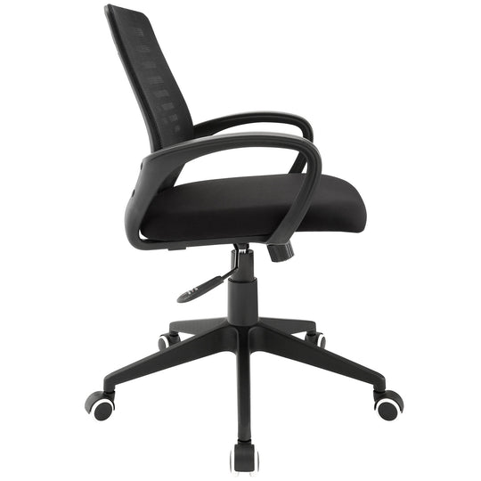 Ardor Mesh Back  Support Computer Desk Office Chair in Black