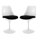 Load image into Gallery viewer, Modern Lippa Dining Armchair - Fabric Dining Room And Chairs - 2 - Set