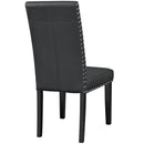 Load image into Gallery viewer, Parcel Faux Leather Kitchen And Dining Side Chair - Living Room Dining Set