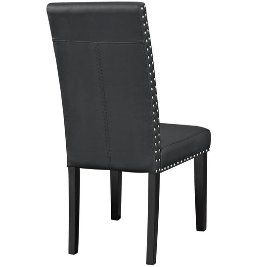 Parcel Faux Leather Kitchen And Dining Side Chair - Living Room Dining Set