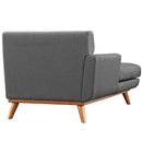 Load image into Gallery viewer, Modern Engage Upholstered Fabric Accent Arm Chair - Couch With Chaise