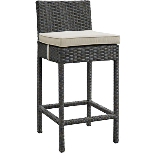 Sojourn Outdoor Patio Sunbrella Bar Stool