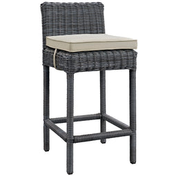 Summon Outdoor Patio Sunbrella Bar Stool