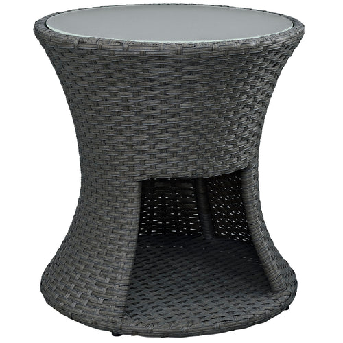 Sojourn Round Outdoor Patio Side Table