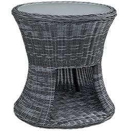Summon Round Outdoor Patio Side Table