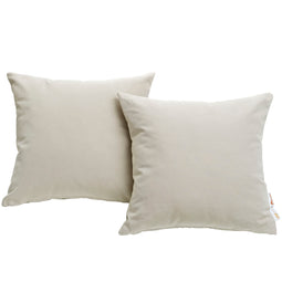Summon 2 Piece Outdoor Patio Sunbrella Pillow Set