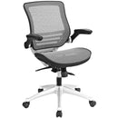 Load image into Gallery viewer, Edge All Mesh Office Chair W/ Flipup Arms, Ideal For Computer Table Chair