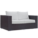 Load image into Gallery viewer, Convene 9 Piece Outdoor Patio Sofa Set