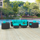 Load image into Gallery viewer, Convene 7 Piece Outdoor Patio Sectional Set