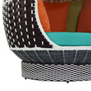 Load image into Gallery viewer, Palace Outdoor Patio Wicker Rattan Hanging Pod