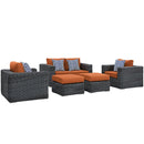 Load image into Gallery viewer, Summon 5 Piece Outdoor Patio Sunbrella Sectional Set