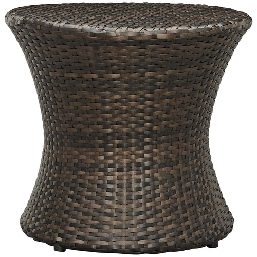 Stage Round Outdoor Patio Side Table