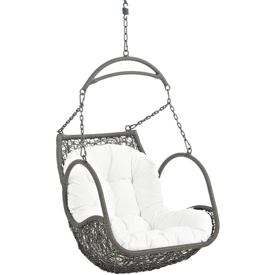 Arbor Outdoor Swing Chair Without Stand With Hanging Chain - Hanging Swing Chair