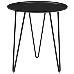 Mid - Century Modern Digress Side Table - Round Side Table - Side Table
