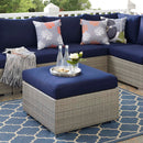 Load image into Gallery viewer, Repose Sunbrella Fabric Outdoor Patio Ottoman