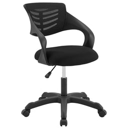 Computer Thrive Mesh Office Desk Chair With Adjustable Height - Mesh Back Support
