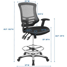 Load image into Gallery viewer, Mesh Drafting Chair for Extra Productive Workplaces | BUILDMyplace