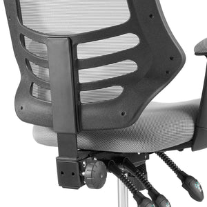 Calibrate Drafting Chair With Height Adjustable - Office Chair With Breathable Mesh Back