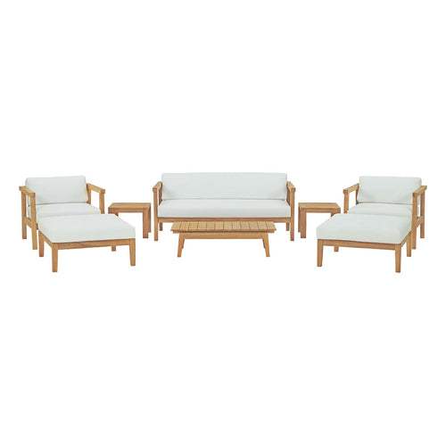 Bayport 8 Piece Outdoor Patio Teak Set