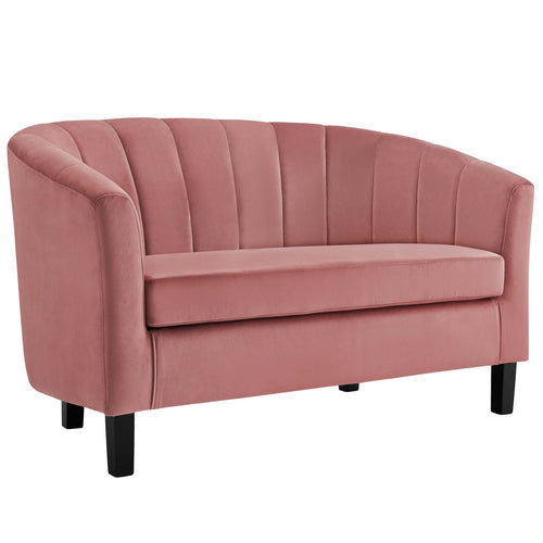Prospect Channel Tufted Performance Loveseat