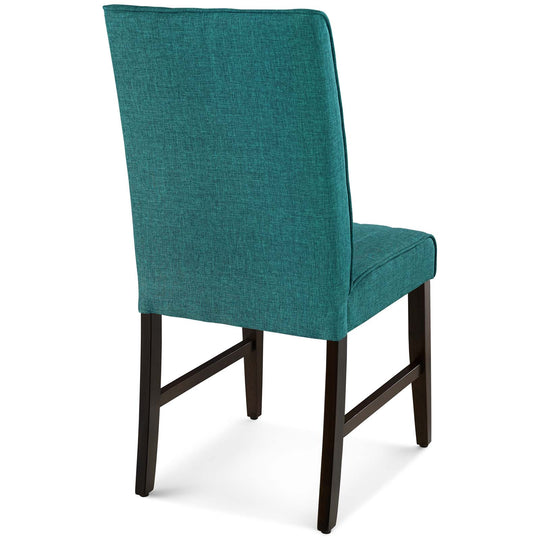 Motivate Channel Tufted Upholstered Dining Chair Set of 2