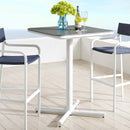 Load image into Gallery viewer, Raleigh Outdoor Patio Aluminum Bar Table
