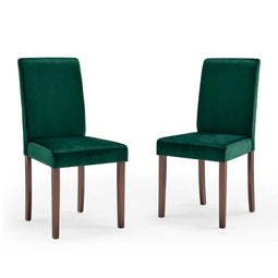 Prosper Upholstered Velvet Dining Side Chair Set of 2