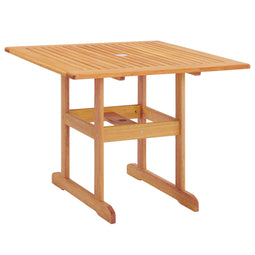 Hatteras Outdoor Patio Eucalyptus Wood Dining Table