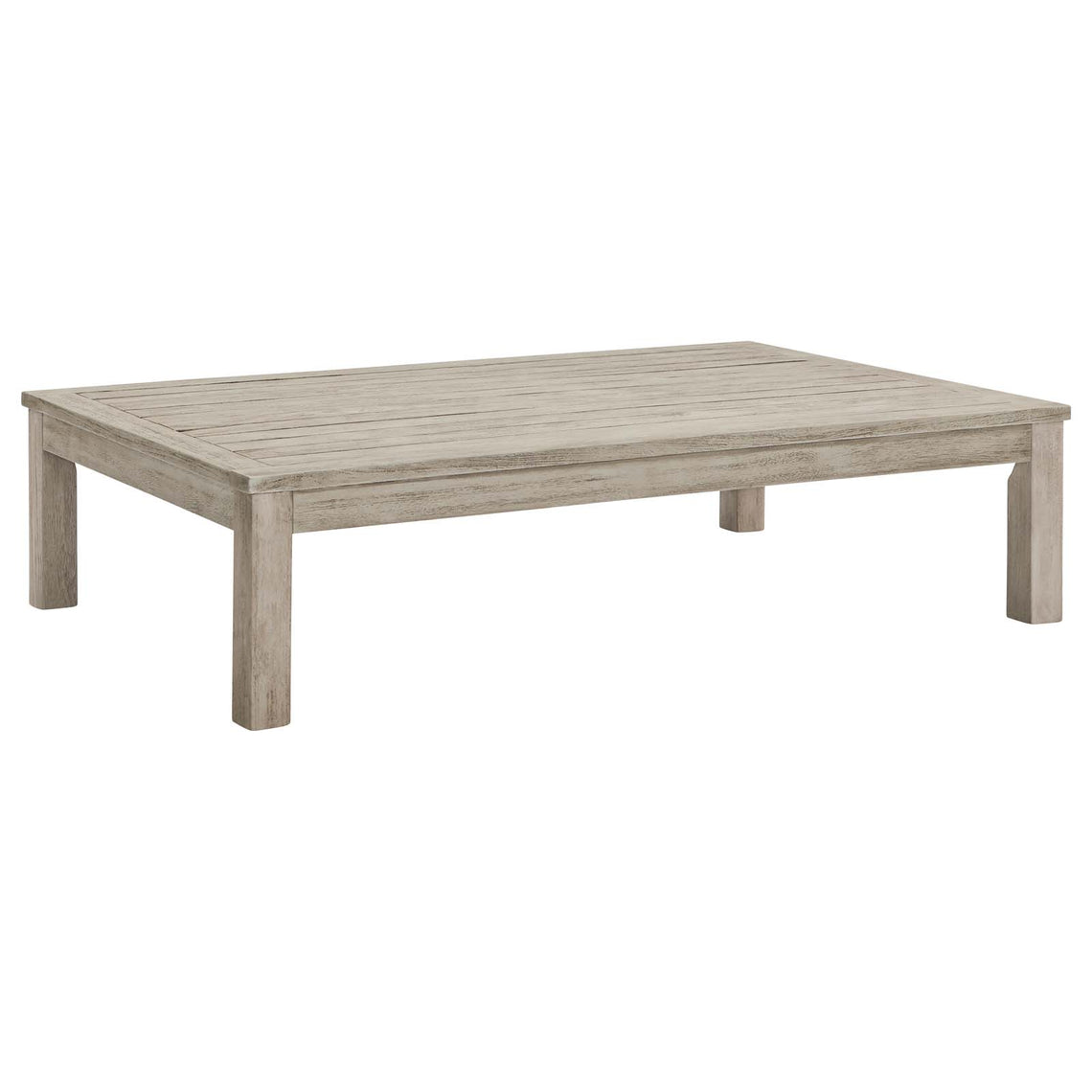 Wiscasset Outdoor Patio Acacia Wood Coffee Table