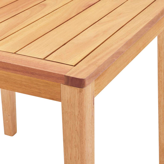 Portsmouth Karri Wood Outdoor Patio Bar Table